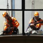 High Rise Glass Repair On Commercial Property | Goleman