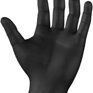 Armour Safety BLACK ARMOUR Nitrile Disposable Glove - Powder Free