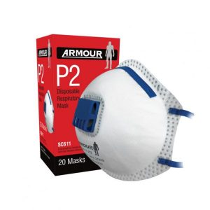 ARMOUR Disposable Dust Mask SC611 – P2 / Respirator