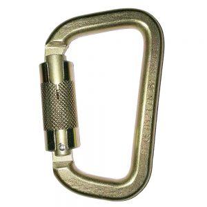 B-Safe Steel Twist Lock Karabiner 41kN - 19mm Gate