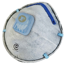 Frontier P2 Disposable Valved Active Carbon Respirator