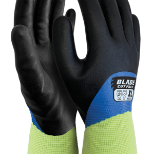 BLADE® Cut 5 Nitrile Liquid Proof Thermal Full Coat Glove (-10°C to -30°C)