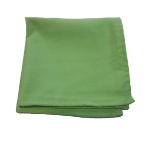 Green Suede Microfiber Cloth